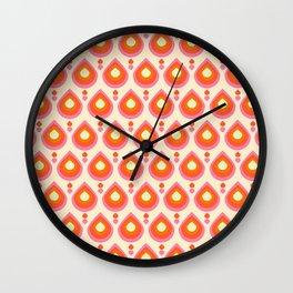 Drops Retro Sixties Wall Clock