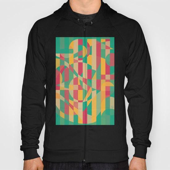Abstract Graphic Art - Contemporary Music Hoody