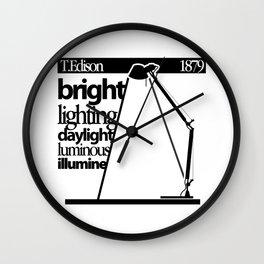 Lampara Wall Clock