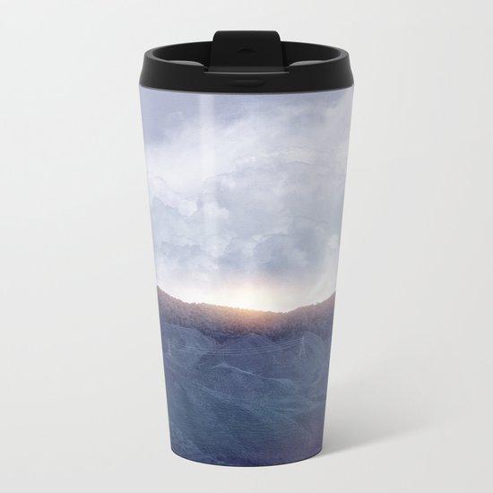 Sunrise I Metal Travel Mug