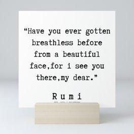 100   | Rumi Quotes | 190221 Mini Art Print