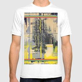 Sunday Morning - colour frame T-shirt