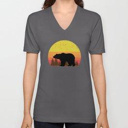 Daddy Bear Color Scheme Unisex V-Neck