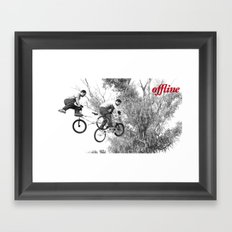 Offline II Framed Art Print