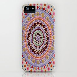 Southwest Summer Sunset Wish Board Mandala iPhone Case