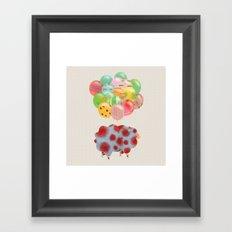 balloon Framed Art Print