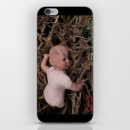 Woodpile Baby iPhone Skin