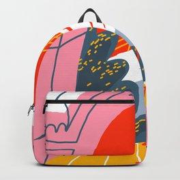 red sky Backpack
