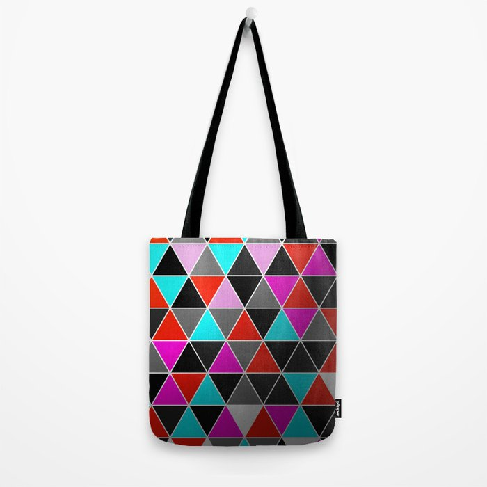 Industrial Triangles Tote Bag