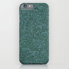 marble texture turquoise iPhone 6s Slim Case