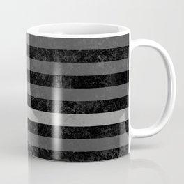Thin Silver Line Flag Coffee Mug
