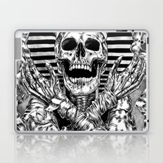Pharaoh mummy Laptop & iPad Skin