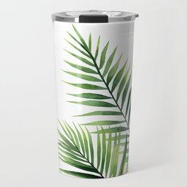 Palm leaves. Travel Mug
