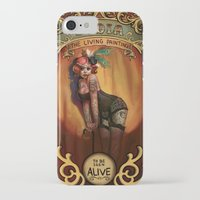 lydia martin iPhone & iPod Cases featuring Lydia by Rudy Faber