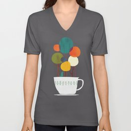 Life in a cup Unisex V-Neck