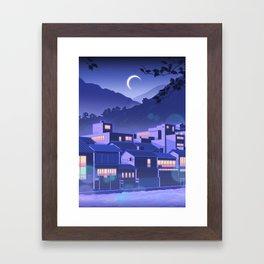 Kamo River Framed Art Print