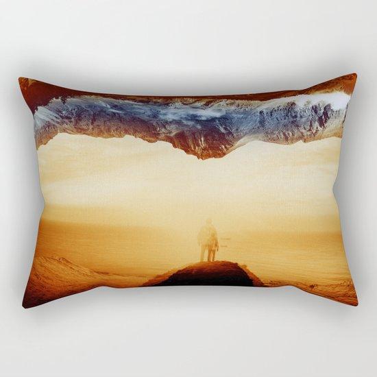 Vibrant Mountain Rectangular Pillow