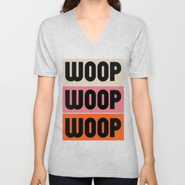 Woop Woop Woop (Pacific) Unisex V-Neck