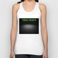 twin peaks Tank Tops featuring Twin Peaks  by Spyck
