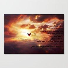Ad lucem (Towards the light) Version 3 Canvas Print