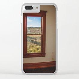 Hurd Round House, Wells County, North Dakota 36 Clear iPhone Case