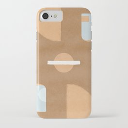 Windows, arch and the upside down world of abstract shapes iPhone Case