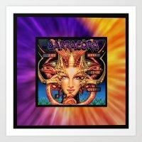 BARRACORA framed Art Print