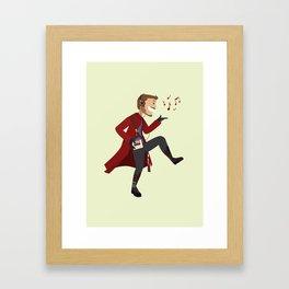 Dancing Quill Framed Art Print