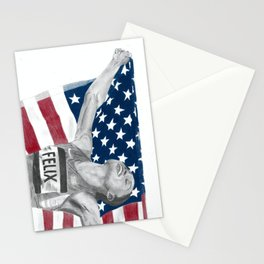 Allyson Felix Stationery Cards