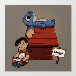 Lilo & Stitch Canvas Print