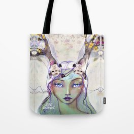 Dear Deer by Jane Davenport Tote Bag