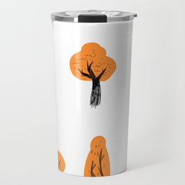 Orange Trees. Travel Mug