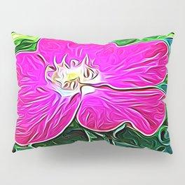 Magenta Flower of Harmony Pillow Sham