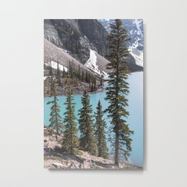 Moraine Lake Vertical Print Metal Print