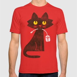 Fitz - Hungry hungry cat (and unfortunate mouse) T-shirt