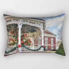 Iron County Courthouse and Gazebo Rectangular Pillow