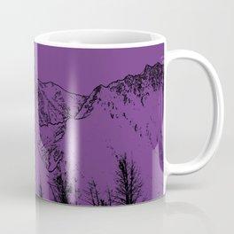 Knik River Mts. Pop Art - 2 Coffee Mug