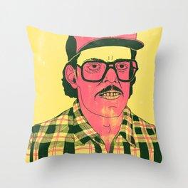 Sausage Man Throw Pillow