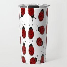 Dotted Ladybird  Travel Mug