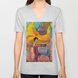 Living in Illusion Unisex V-Neck