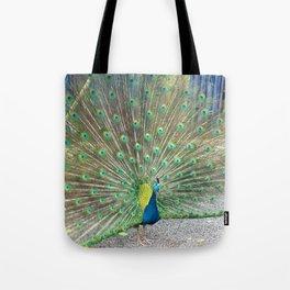 Peacock III Tote Bag
