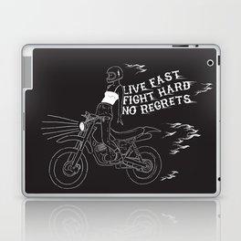 live fast Laptop & iPad Skin