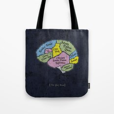 The Geek Brain Tote Bag