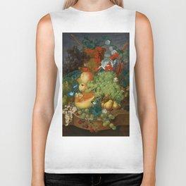 "Jan van Os  ""Fruit still life with a mouse on a ledge"" Biker Tank"