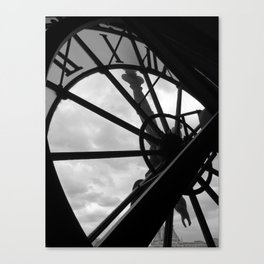 Horloge d'Orsay Canvas Print