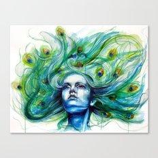 Peacock- Metamorphosis Canvas Print
