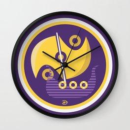 Nordic Voyage Wall Clock