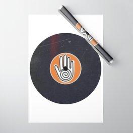Vinyl Record Art & Design   Mandala Hand Wrapping Paper
