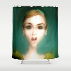 What?! Shower Curtain