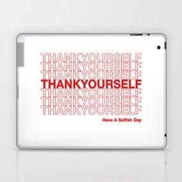 THANKYOURSELF Laptop & iPad Skin